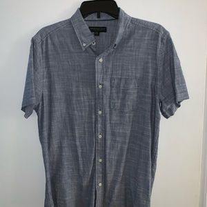 Light Blue AeroPostale Shortsleeve Button down